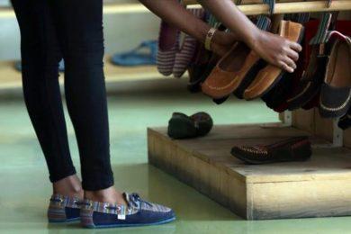 صناعة الأحذية النسائية