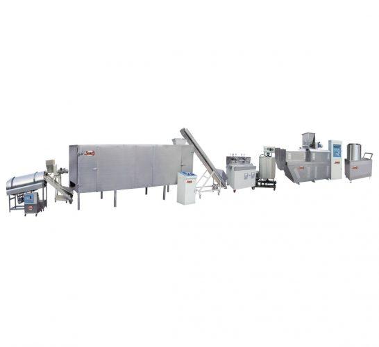 تصنيع-وتوريد-خط-إنتاج-مقرمشات-من-دقيق-الذرة-–-سناكس