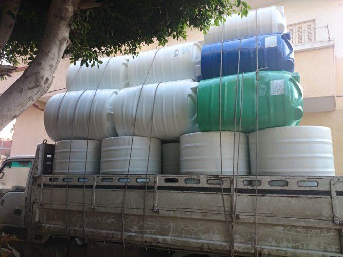 توريد-خزانات-المياة-المصنعة-من-البولى-اثلين