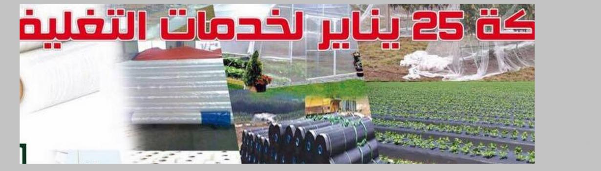 شركة 25 يناير لخامات التغليف