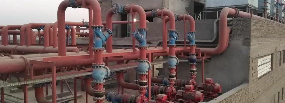 شركة فيرست سمارت لانظمة مكافحة وانذار الحريق وانظمة التكييف والتهويه