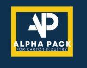 شركة الفا باك لصناعة جميع انواع الكرتون