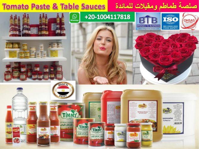 تصدير-معجون-طماطم-ومقبلات-مائدة