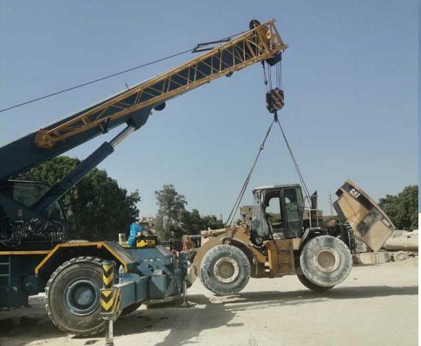 صيانة-ونش-terex-60-ton-من-شركة-تكنو-هيدروليك_